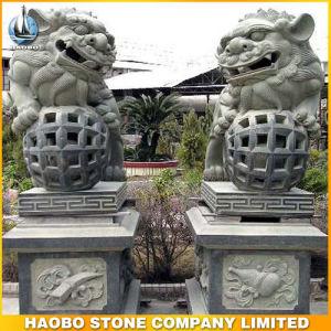 Stone Lion Sculpture Middle Size pictures & photos