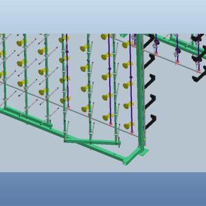 Customerized Swivel Yarn Creel for Warping Machine