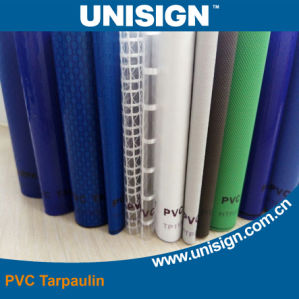 PVC Coated Tarpaulin Fabric for Truck Cover \Tent \Sunshade and Inflatable Material pictures & photos