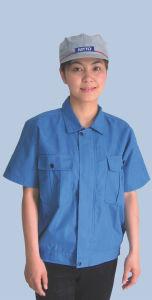 ESD Short Sleeve Uniform, Anti-Static Tc Garment, Anti-Static Workwear pictures & photos