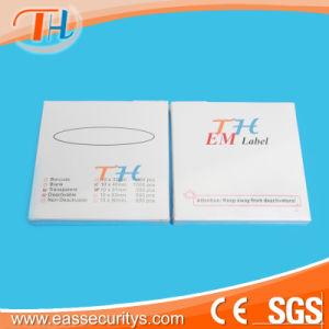Hot Sales Em Transparent Security Label (10X50mm) pictures & photos
