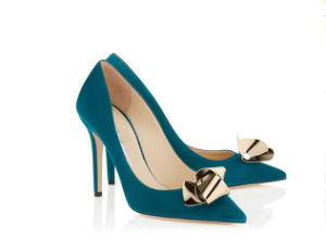 New Design Fahion High Heel Pointey Ladies Shoes (Y 72) pictures & photos