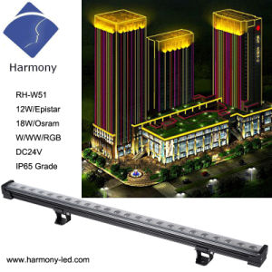 IP65 RGB with DMX512 Control 18W LED Wall Washer pictures & photos