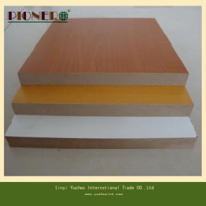 18mm Melamine Laminated MDF for Furniture Manufacture pictures & photos