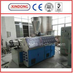 Sjz Series Conical Twin Screw Extruder pictures & photos