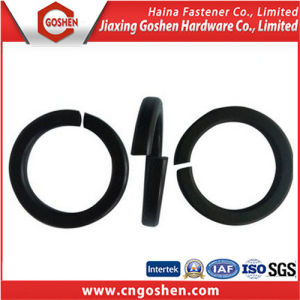 Black, Zinc-Plated, Plain Spring Washer DIN127 pictures & photos
