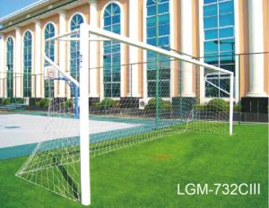 High Quality 11p Steel Pipe Soccer/Football Goals pictures & photos