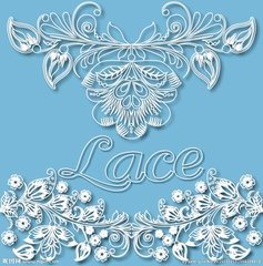 Wholesale Fancy Polyster Guipure Motifs Lace for Bridal Evening Dress