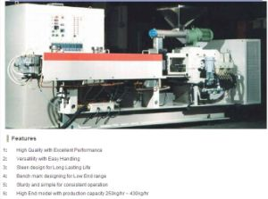 Parallel Co-Rotating Twin Screw Extruder for Plastic Masterbatch Compound pictures & photos