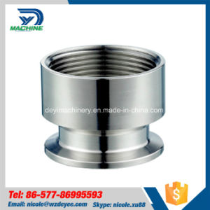 Stainless Steel Sanitary Thread Hose Nipple (DY-N010) pictures & photos
