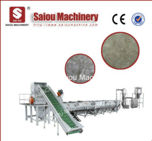 Supply Sale Hot Waste PP PE Bags Recycling Machine Line pictures & photos