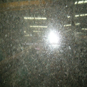 India Import Granite Stone Black Pearl Slab for Tiles/Countertops pictures & photos