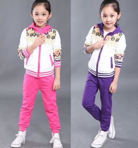 Leisure Fashion Track Suit Sweatshirt Hoodies in Children Clothes Swg-126 pictures & photos