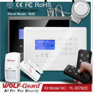Smart Home Security Alarm System with LCD Touch Keypad (M2E) pictures & photos