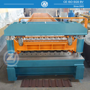 Aluminum Roof Panel Roll Forming Machine pictures & photos