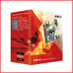 AMD A6-3500 Apu with AMD Radeon 6530 HD Graphics 65W Triple-Core Processor