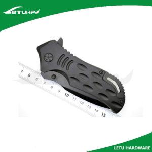 Liner Locking Black Finish Folding Blade Knife pictures & photos