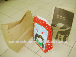 Reel Feeding Bottom Paper Bag Making Machine pictures & photos