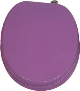 Hot Sale Purple MDF Toilet Seat
