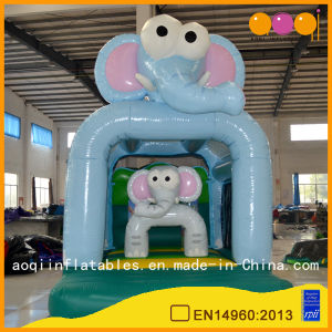 Funny Inflatable Trampoline Elephant Family Bouncer (AQ01603) pictures & photos