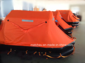Yacht Useing Throw Over Board Inflatable Life Raft pictures & photos