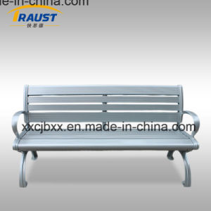 Outdoor Park Aluminum Bench with Back/Garden Metal Bench pictures & photos