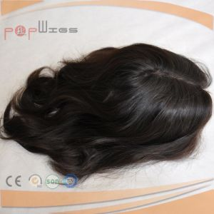 Black Color Hair High End Silk Top Lace Closure pictures & photos