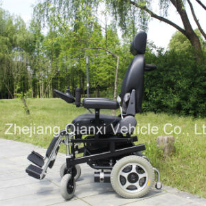 Deluxe Invalid Electric Wheelchair with Ce Certification pictures & photos