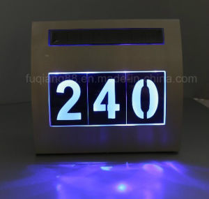 New Design Solar Light with House Number pictures & photos