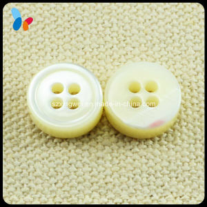 Nature White Trocas Mop Shell Button for Clothes pictures & photos