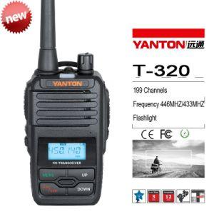 UHF 400-480MHz Handheld Walkie Talkie with 199 Channels (YANTON T-320)