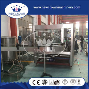 PLC Controlled 375ml Glass Beer Bottle Filling Machine pictures & photos