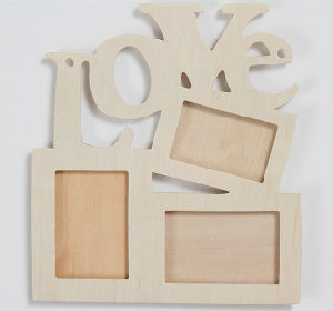 CNC Graving Family Photo Frame pictures & photos