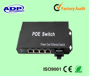 ADP 24 Port Poe Switch 10/100m Power Over Ethernet Switch pictures & photos