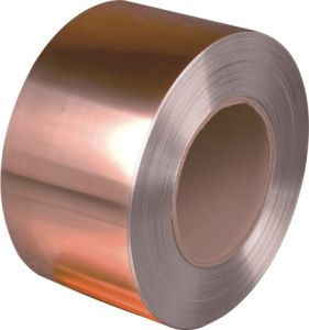 Copper Clad Steel Strip T2/C11000 Widely Used in Decoration pictures & photos