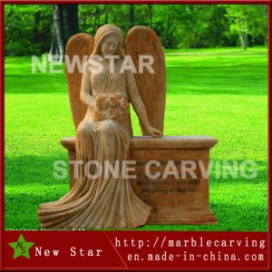 Factory Direct Granite Memorial Monument Gravestone of Angel pictures & photos