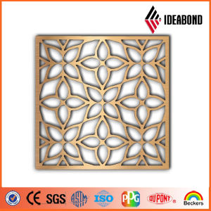 2017 Beautiful Design Screen Interior Decoration Aluminum Perforated Panel From China Supplier pictures & photos
