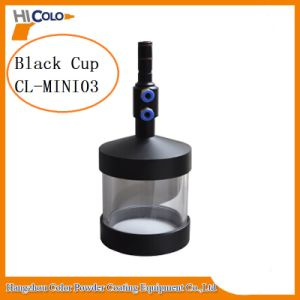 Small Glassblack Powder Coating Container Cl-Mini03 Barril De Polvo pictures & photos