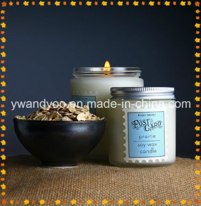 Scented Soy Birthday Candle in Glass Jar with Lid