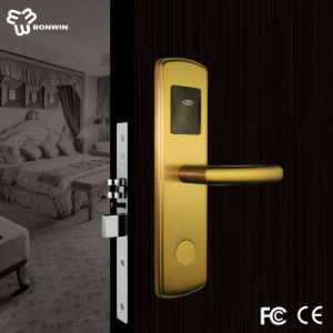 Hotel RF Card Door Lock with CE and FCC Certifications pictures & photos