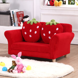 Strawberry Fabric Children Furniture with Pillow (SXBB-281-3) pictures & photos