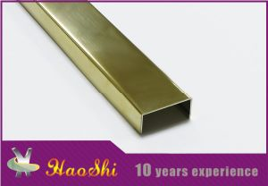 U Shape Stainless Steel Wall Decorative Strips (HSSS-03)