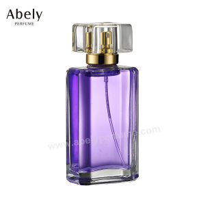 75ml Beautiful Transparent Perfume Glass Bottle pictures & photos