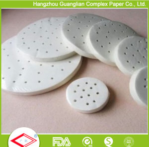 Silicone Coated Reusable Non-Stick Steamer Paper for Bamboo Steamer pictures & photos
