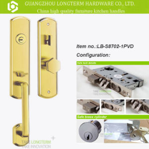 Stainless Steel Lever Handles with ISO Certification (LB-S8702-1) pictures & photos