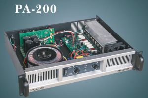 2*200W High Quality Power Amplifier (PA200) pictures & photos