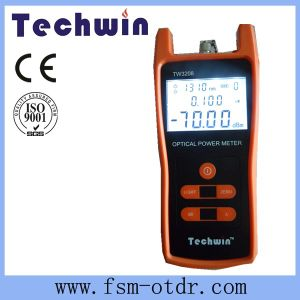 Techwin Fibre Power Meter for Maintenance CATV pictures & photos