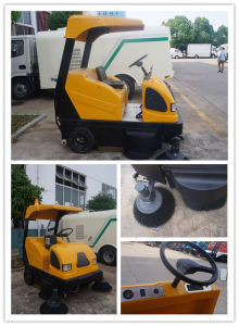 Mini Auto Electric City Sweeping Truck pictures & photos