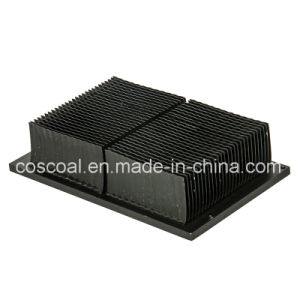 Aluminum Extrusion Skived Fin Heatsink pictures & photos