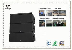 "Double 12"" High-Output/High System PRO Line Arrays M220 pictures & photos"